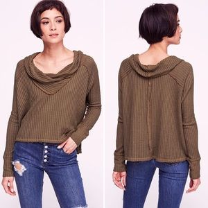 Free People • Wildcat Thermal Top in Military